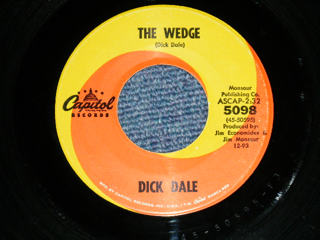 Dick Dale The Wedge 78